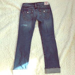 Women's True Religion Billy Jeans Size 28
